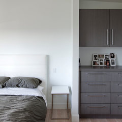 contemporary bedroom by Tanya Schoenroth Design
