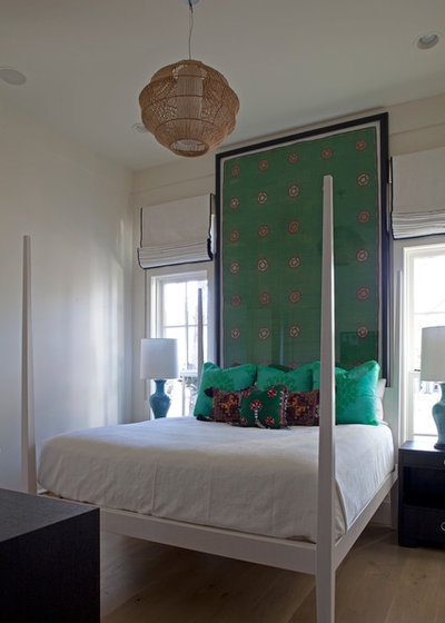 Eclectic Bedroom by Geoff Chick & Associates