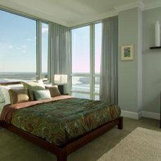 Contemporary Bedroom by Busybee Design