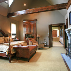 Traditional Bedroom by Parker & Associates Architects