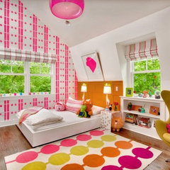 eclectic bedroom by Paul Anater