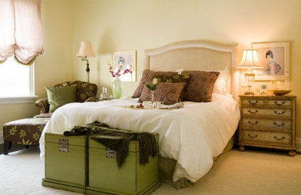 Traditional Bedroom by c3d design