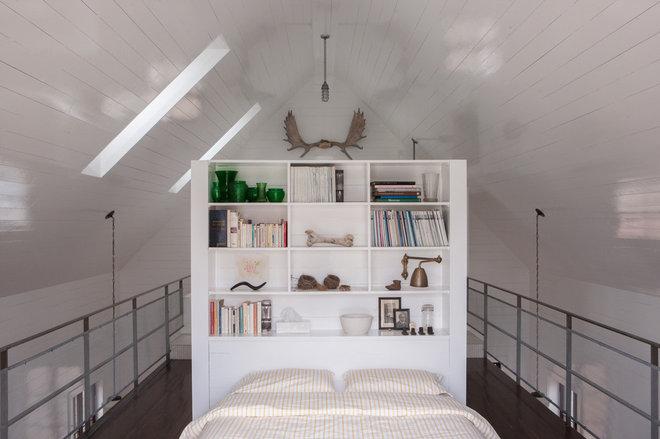 Rustic Bedroom by Jean Longpré