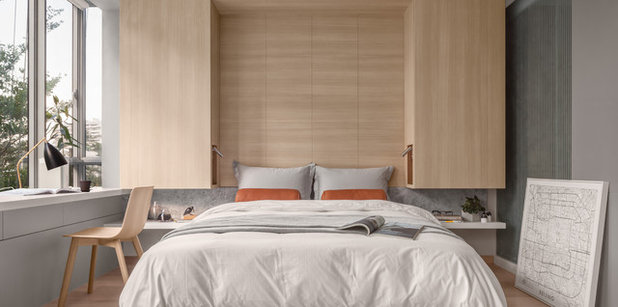 Contemporary Bedroom by Atelier Here