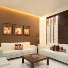 contemporary bedroom by Elan Designs