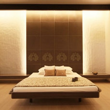 Asian Bedroom by Elan Designs