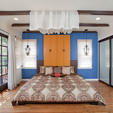 Eclectic Bedroom by Elan Designs