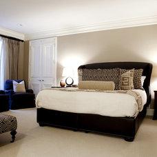 Contemporary Bedroom by Caitlin Wilson