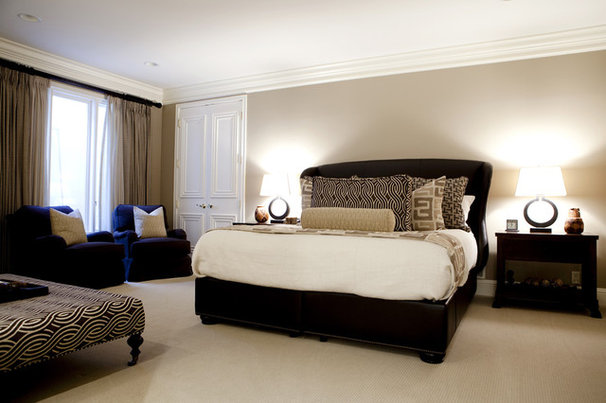 Contemporary Bedroom by Caitlin Wilson