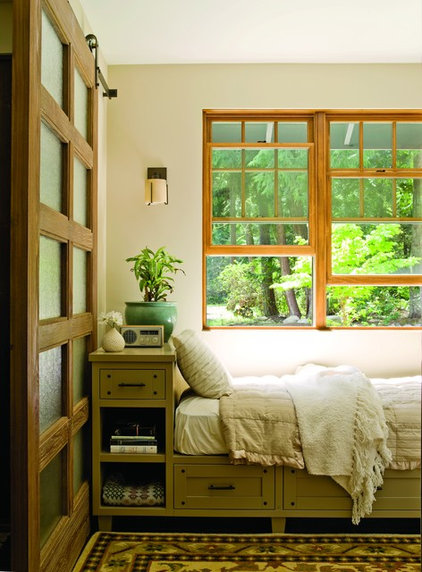 Traditional Bedroom by Johnson Squared Architecture + Planning
