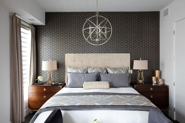 Современная классика Спальня by DWK Interiors