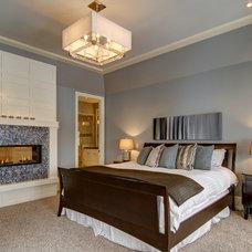 Traditional Bedroom by Rockwood Custom Homes