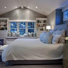 Traditional Bedroom by Lori Gentile Interior Design