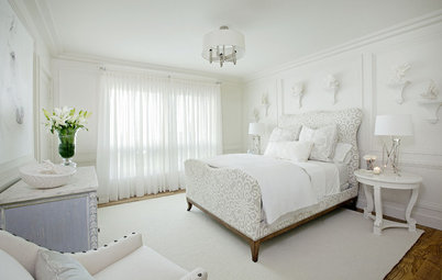 10 Ways With (Almost) All-White Bedrooms