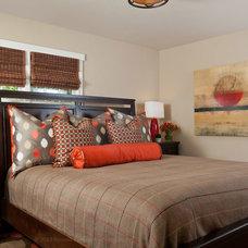 Craftsman Bedroom by Alison Whittaker Design, Inc.