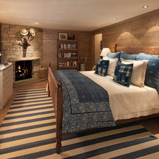 Rustic Bedroom by Ann James Interiors