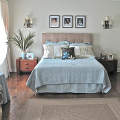 eclectic bedroom by Melissa Condotta