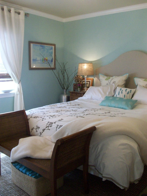 Coastal Master Bedroom Houzz