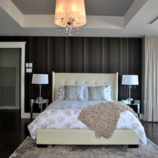 Contemporary Bedroom by Amazing Space Interiors