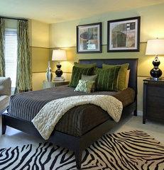 contemporary bedroom by Ragan Corliss