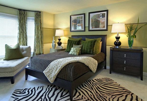 Contemporary Bedroom by Ragan Corliss