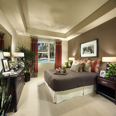 contemporary bedroom by greige/Fluegge Interior Design, Inc.