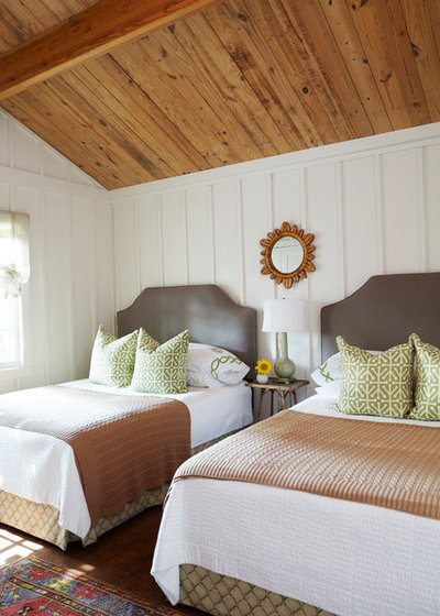 Farmhouse Bedroom by Studio C Architecture & Interiors