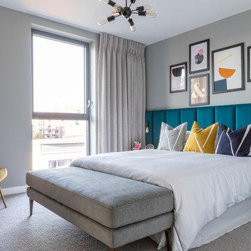 Canary Wharf view flat