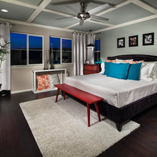 Contemporary Bedroom by TRIO Environments