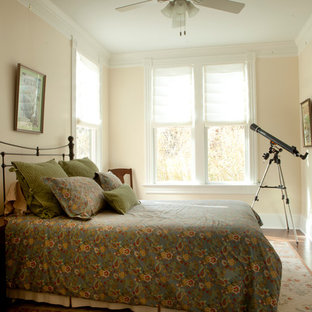 Example of a classic bedroom design in Atlanta