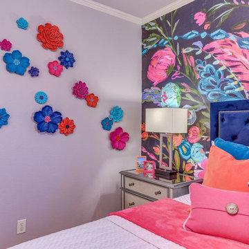 Canyon Oaks Floral Bedroom