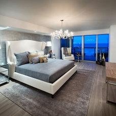 Contemporary Bedroom by EBL Construction