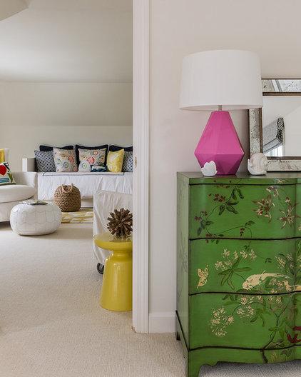 Contemporary Bedroom by Katie Rosenfeld Design