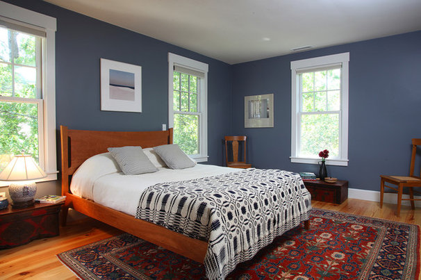 Traditional Bedroom by Frank Shirley Architects