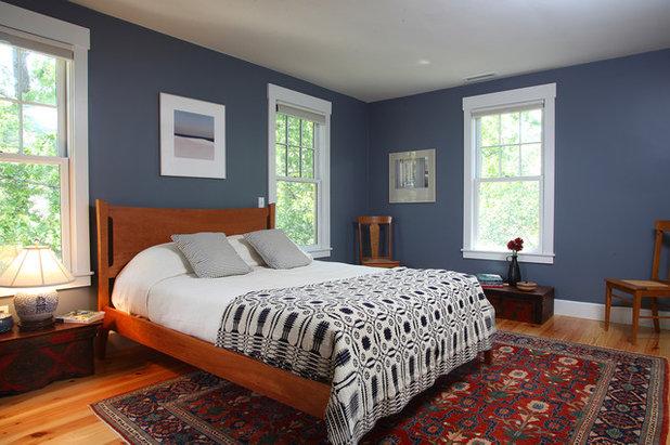 Chambre bleu ciel et lin ~ Design de maison