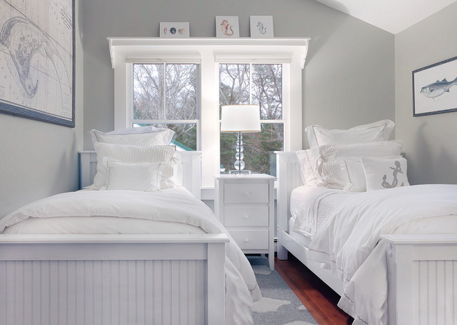 Beach Style Bedroom by A.LeStage Interiors