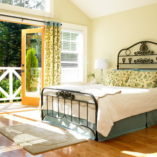 Traditional bedroom in Vancouver.