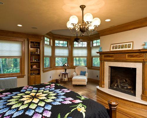 chambre victorienne avec un manteau de chemin e en bois photos et id es d co de chambres. Black Bedroom Furniture Sets. Home Design Ideas