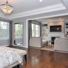 Traditional Bedroom by Capital City Builders