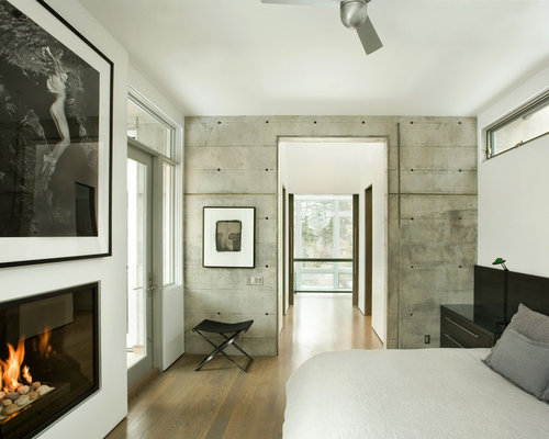 Cement Accent Wall : Concrete accent wall home design ideas pictures remodel