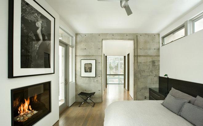 Modern Bedroom by Kaegebein Fine Homebuilding