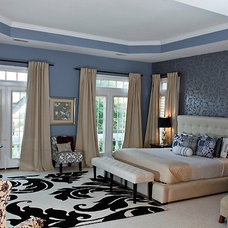 Eclectic Bedroom by CAPITOL DECOR
