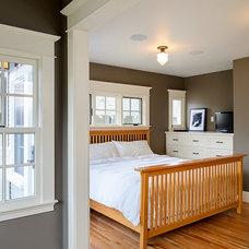Craftsman Bedroom by Axiom Design Build