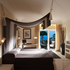 mediterranean bedroom by Fabrizia Frezza Architecture & Interiors