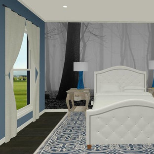 Example Of A Transitional Bedroom Design In Kansas City