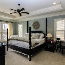 Contemporary Bedroom by Invision Digital Media