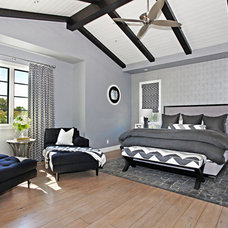 Contemporary Bedroom by Brooke Wagner Design