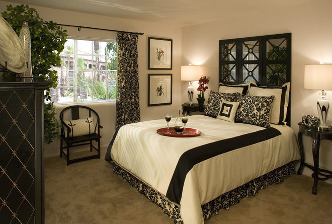 Contemporary Bedroom by Design West