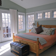 Eclectic Bedroom by Brenda Olde