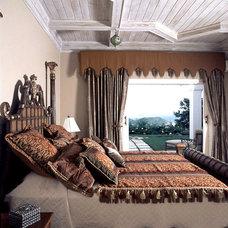 Tropical Bedroom by Bruce Palmer Coastal Design